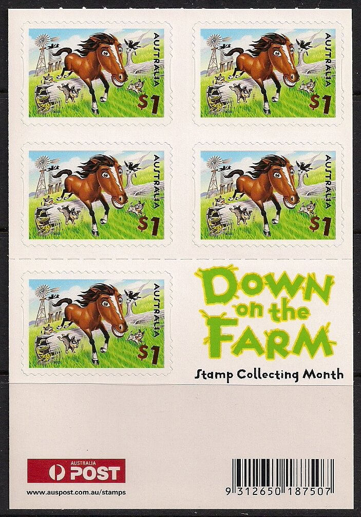 down on the farm mesa stamps
