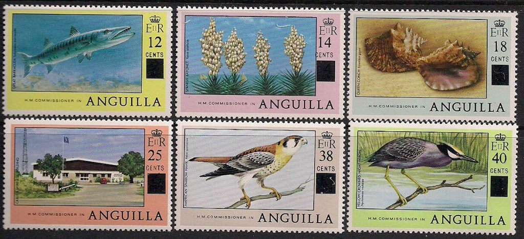 anguilla british commonwealth stamp
