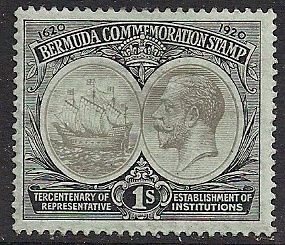 bermuda british commonwealth stamp
