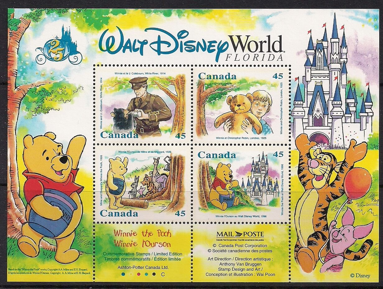 Stamp Collections - Topical (Walt Disney / Winnie the Pooh)