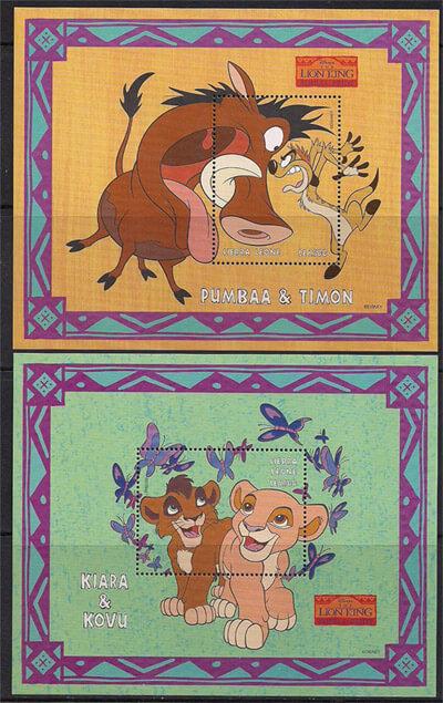 Walt Disney Stamps