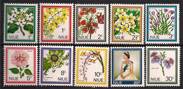 Collect Flower Stamps