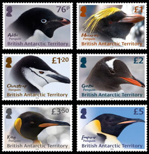 Penguin Stamps - Species