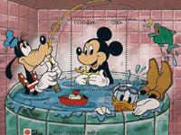 Walt Disney Stamp Collections