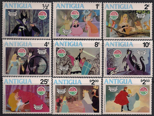 Walt Disney Stamps - The Sleeping Beauty