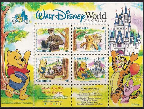 Walt Disney Stamps - Winnie the Pooh