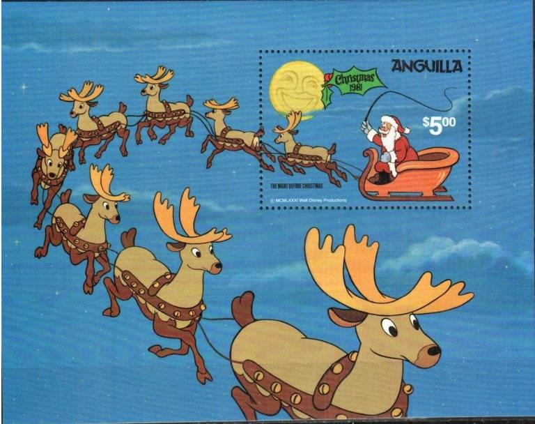 Disney Christmas Stamps