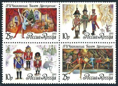 Nutcracker Ballet Christmas Stamps