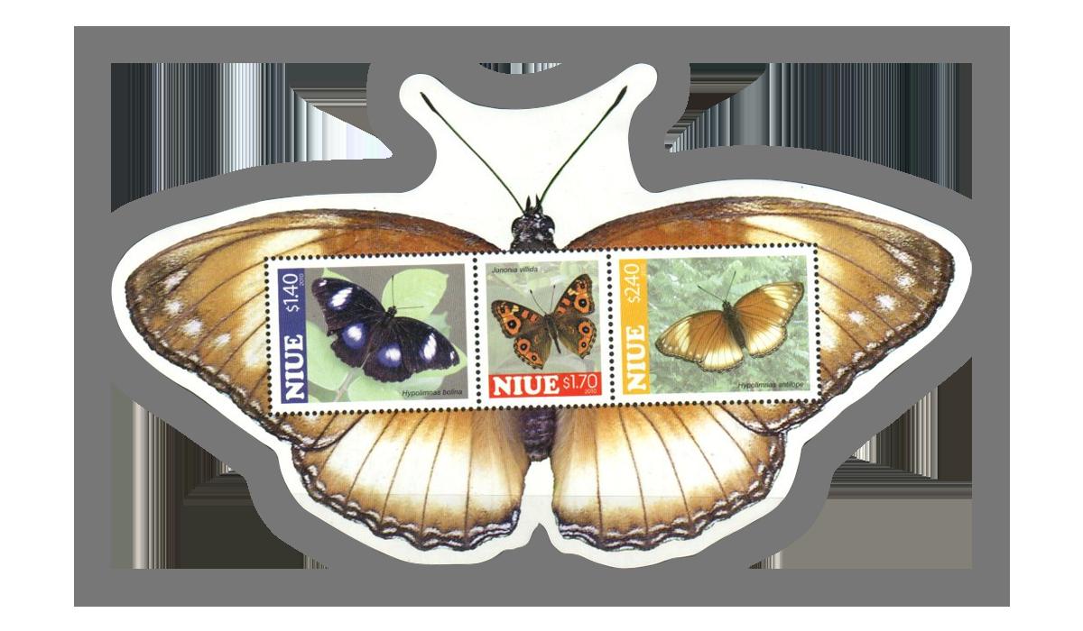 Butterfly Souvenir Sheet