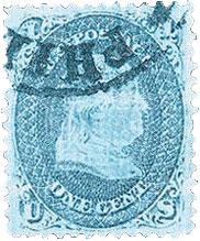 1 Cent, Benjamin Franklin, Rare US Stamps